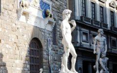 Cinema, Firenze: piazza Signoria set per film su Michelangelo. Lunedì 16 ottobre