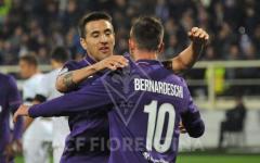 Fiorentina con batticuore sul Palermo in zona Babacar: 2-1. Al 92'. Sceneggiata antisportiva del portiere palermitano. Pagelle
