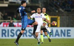 Calcio: Empoli battuto (1-2) nell'anticipo in casa dell'Atalanta. La rete decisiva al 94'