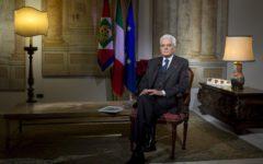 Sergio Mattarella: il primo problema è il lavoro, e si va al voto solo con regole chiare e adeguate