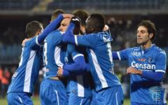 L'Empoli batte il Palermo (1-0) nella sfida-salvezza. Decisivo il rigore di Maccarone. Pagelle