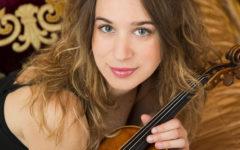 Firenze: al Teatro Verdi l'ORT diretta da Daniel Smith, con Anna Tifu al violino