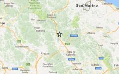 Terremoto: scossa di magnitudo 2.1 nella zona di Pieve Santo Stefano. Paura fra la gente