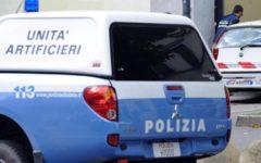 Campi Bisenzio (Fi): pacco sospetto fatto brillare dagli artificieri della polizia