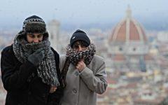 Firenze meteo: allerta ghiaccio fino alla mezzanotte del 18 dicembre