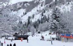 Montagne toscane: è tornata a cadere la neve, molti impianti aperti