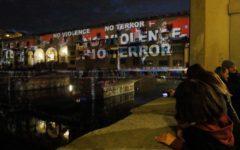 Firenze: Ponte Vecchio illuminato contro il terrorismo