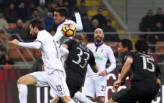 La Fiorentina perde con il Milan (2-1) la sfida per l'Europa. Errore micidiale di Borja. Pagelle (Foto)