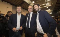 Pd addio: Enrico Rossi e Roberto Speranza presentano il partito Democratici e Progressisti