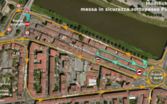 Firenze: da lunedì 27 febbraio lavori al sottopasso di Piazza paolo Uccello. Disagi per il traffico in vista