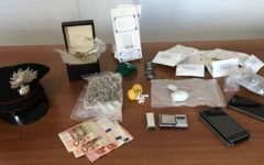 Grosseto: pony express della droga arrestato dai Carabinieri, insieme alla convivente