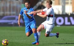 Empoli battuto anche dal Genoa: 0-2. Ora la squadra di Martusciello deve risvegliarsi