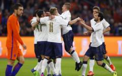 L'Italia giovane vince in Olanda (1-2). Gol di Eder e Bonucci. Ventura: «Ai Mondiali di Russia saremo la sorpresa». Pagelle