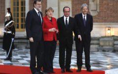 Versailles: serve un'Europa a più velocità, vertice Gentiloni - Hollande - Merkel - Rajoy