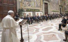 60° dei trattati di Roma: i rappresentanti Ue accolti da Papa Francesco e da Gentiloni