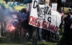 Roma, Università: contestata la ministra Fedeli. Scontri studenti - polizia, 4 agenti contusi