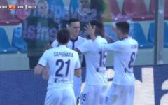 Fiorentina: Kalinic gol in extremis, vittoria a Crotone (0-1). Il sogno remuntada per l'Europa continua. Pagelle (Foto)