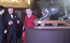 A Carlo e Camilla le chiavi di Firenze durante la cena per 300 in Palazzo Vecchio. Lui: «Rapporti  stretti con l'Italia» (malgrado Brexit)