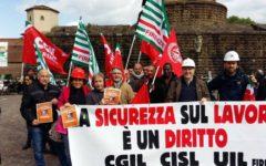 Firenze: sicurezza sul lavoro, giornata mondiale. Manifestazione unitaria dei sindacati