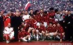 Milan: la società passa di mano dopo 31 anni da Berlusconi ai cinesi. Il primo scudetto nel 1987-88
