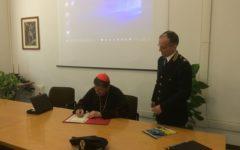 Firenze: il Cardinale Giuseppe Betori visita la Polizia Stradale