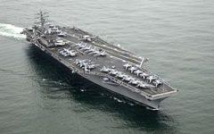 Corea del Nord: terza portaerei usa nel Pacifico occidentale. Contro i test missilistici