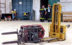 Vaiano (Po): operaio muore schiacciato da un carrello elevatore