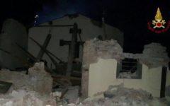 Vicopisano (Pi): chiesa distrutta da esplosione di gas. Un ferito lieve