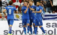 L'Italia liquida l'Uruguay (quasi in vacanza...) e prepara la goleada con il Lichtenstein. Bene Bernardeschi (Foto)