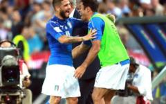Qualificazioni mondiali 2018: l'Italia travolge Liechtenstein (5-0). Ma non basta. Segna anche Bernardeschi: primo gol in azzurro. Pagelle