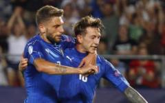 Europeo under 21: l'Italia batte la Germania (1-0) e vola in semifinale. Trascinata da Bernardeschi (suo il gol decisivo) e Chiesa