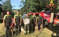Montelupo (Fi): premiato il nucleo cinofilo dei Vigili del fuoco della Toscana