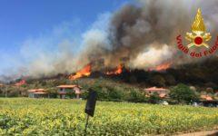 Incendi: in Toscana nel 2017 in sei mesi sono stati quasi il triplo dell'anno scorso