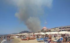 Castiglion della pescaia (Gr): Nuovi incendi minacciano case e strade