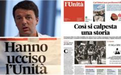 Festa dell'Unità senza giornale: Fnsi e Ast attaccano Renzi e il Pd