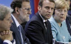 Parigi, migranti: vertice Merkel - Macron - Gentiloni - Rajoy. Cooperazione con la Libia e regole per le Ong