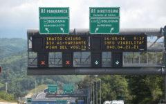 Firenze A1: direttissima chiusa per quattro notti dal 7 agosto