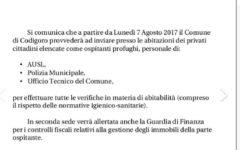 Codigoro (Fe): tasse più alte e ispezioni della Guardia di finanza a chi ospita migranti
