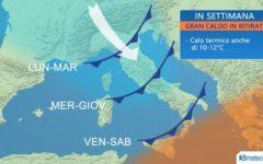 Meteo: le previsioni di 3bmeteo fino al 9 agosto, ancora maltempo al Nord