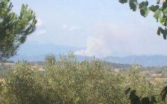 Pistoia: incendio sul San Baronto. Sfiorate alcune case