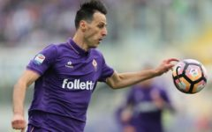 Fiorentina: Kalinic, per protesta, non partecipa agli allenamenti, multato