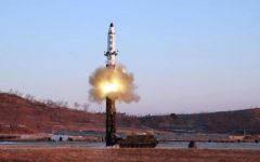 Corea Nord: missile nucleare sul Giappone, vicino all'isola di Hokkaido. Sprofonda in mare