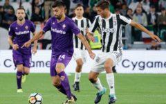 Fiorentina in 10 battuta dalla Juve (1-0). Ma l'hanno persa Pioli e Gaspar. Pagelle (Foto)