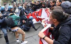 G7 a Torino: scontri a corteo. Manifestante fermato. Occupata l'Università