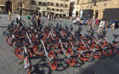Firenze: bike sharing, 7.700 utilizzi al giorno. Successo del servizio Mobike