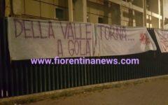 Fiorentina: nuovi striscioni dei tifosi contro i Della Valle