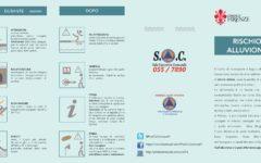 Firenze: volantino su rischio alluvione distribuito dal comune