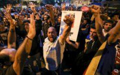 Barcellona: la Catalogna si è fermata a mezzogiorno. Protesta per gli arresti dei leader indipendentisti