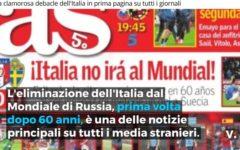 Italia, disastro Mondiali 2018: l'ironia dei quotidiani stranieri