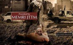 Terrorismo: l'Isis mostra Papa Francesco decapitato e minaccia attentati a natale